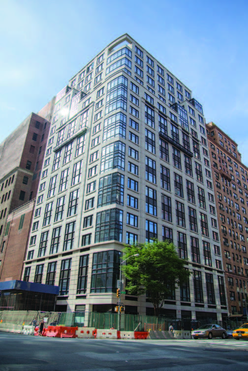 Residential High Rise Integrates High Performance
